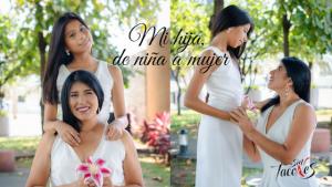 Carol Vera del Valle y su hija Faby Paucar